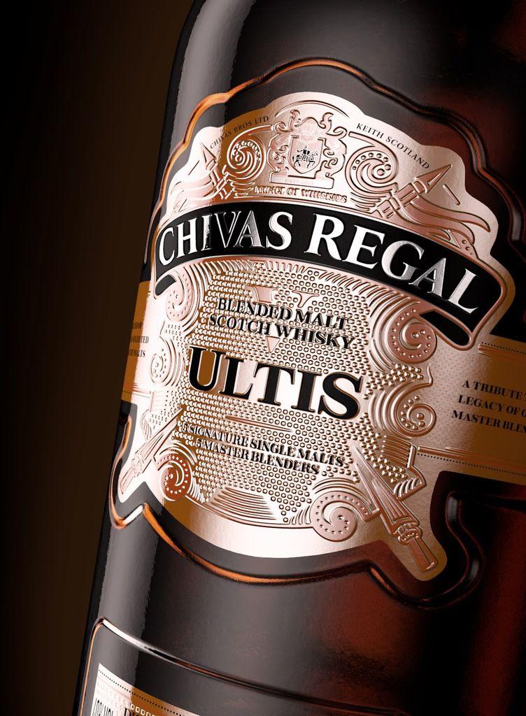 Packaging : Chivas Regal Ultis, classe tout simplement