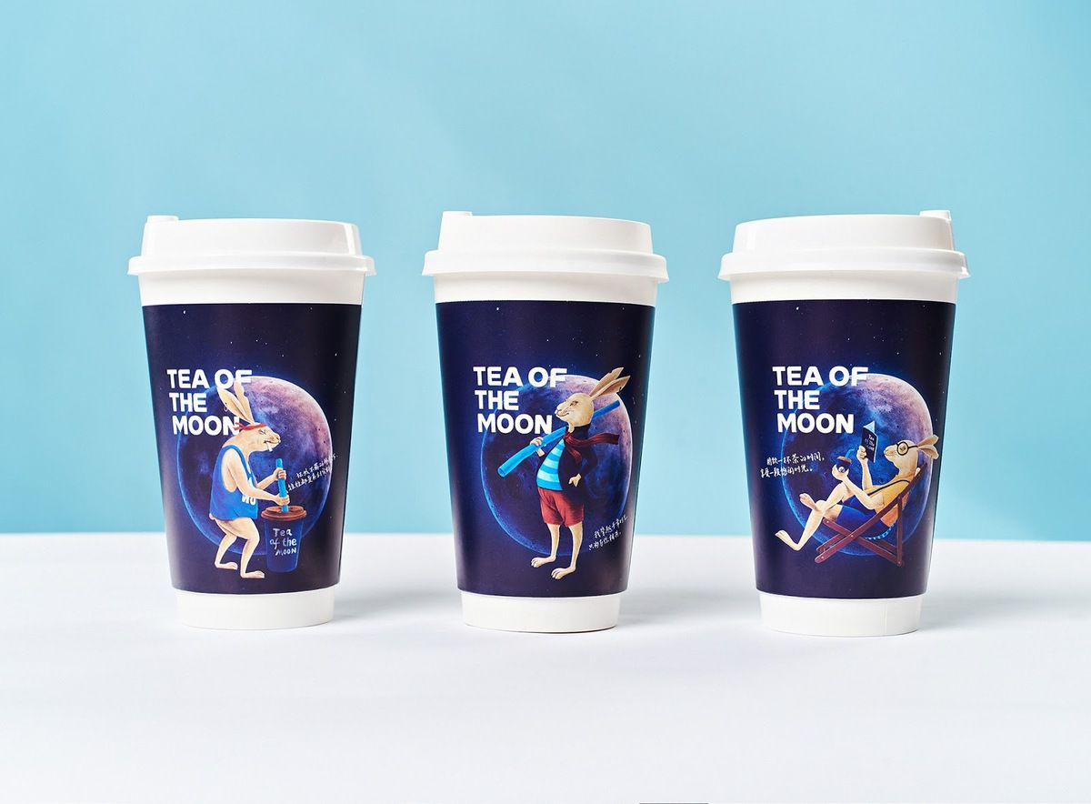 Packaging : Tee of the Moon,  la nouvelle expression d'un packaging très malin