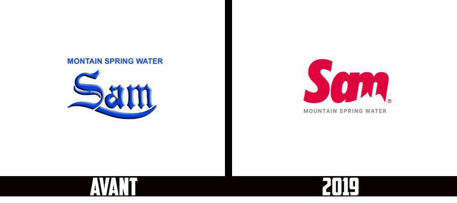 Branding : L'eau minérale SAM change de logo et de packaging