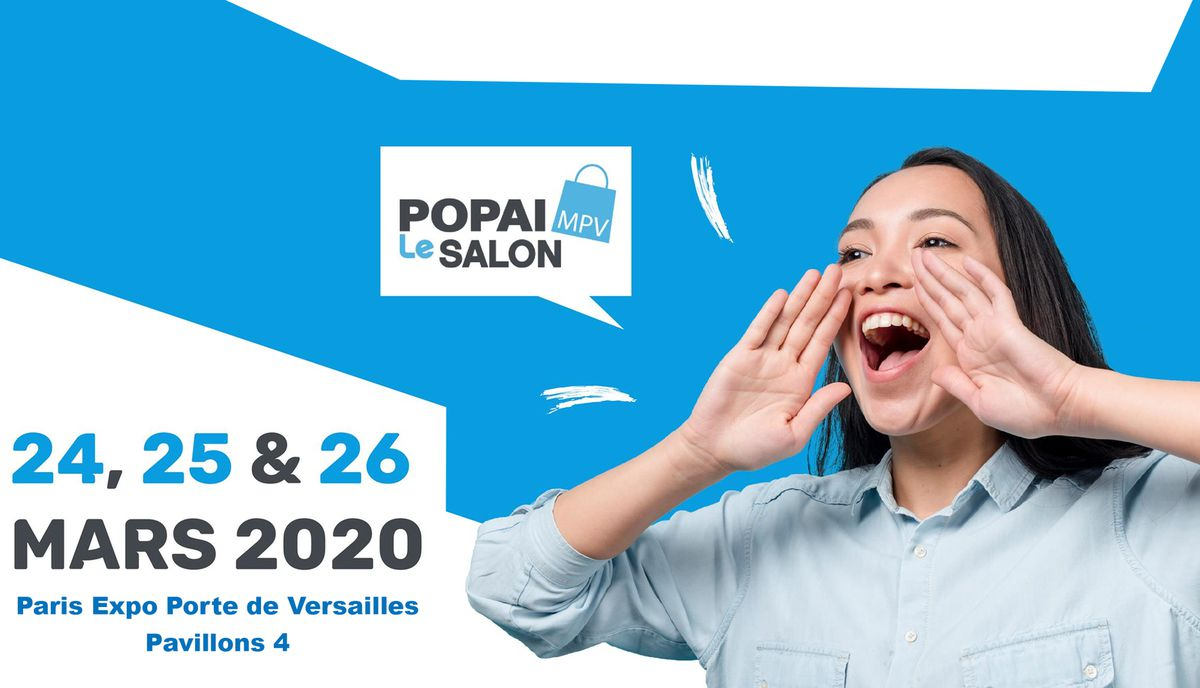 Marketing Event : En mars 2020 à Paris, MPV - Salon Marketing Point de Vente