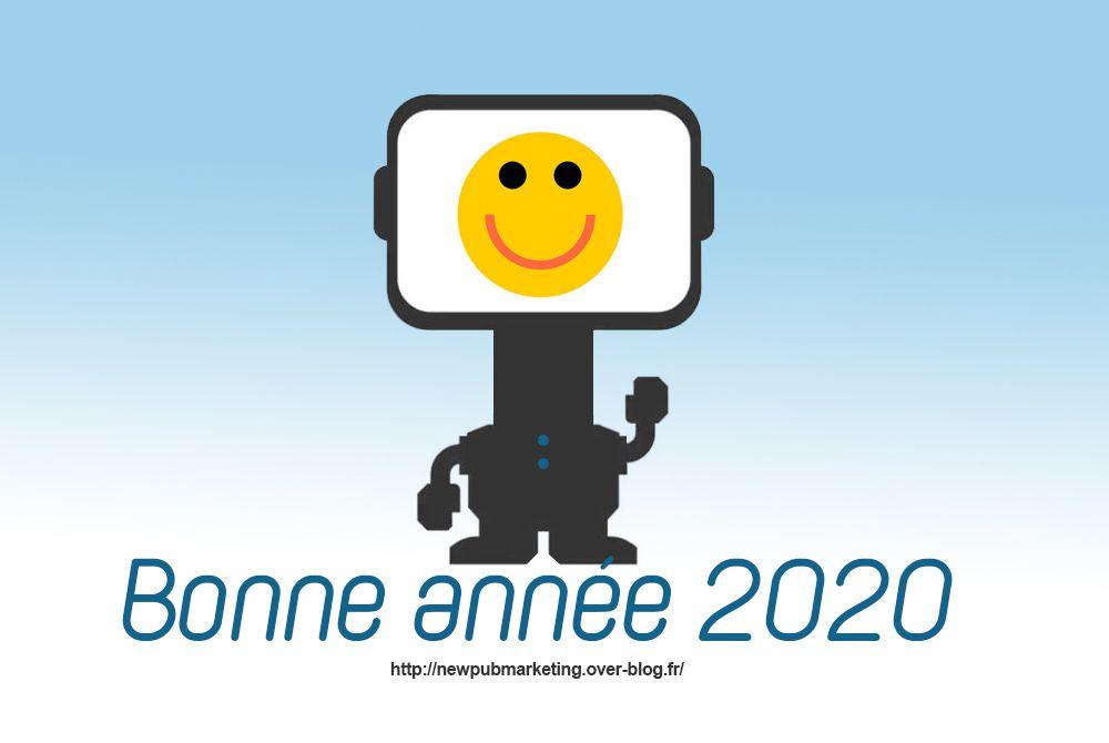 Newpubmarketing vous souhaite une bonne année 2020 !
