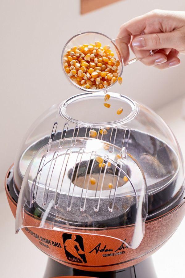 Innovation produit : La machine à pop-corn spéciale basketball