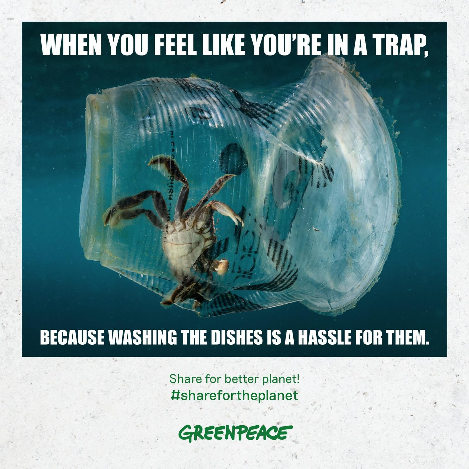 Pub de la semaine : GreenPeace lance Share for better planet !