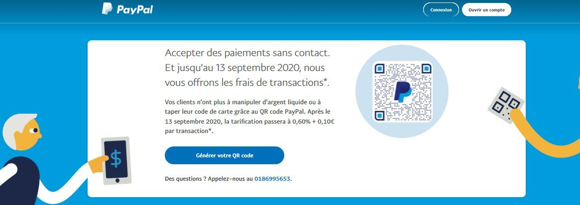 Innovation high-Tech : Paypal lance le paiment par QR CODE