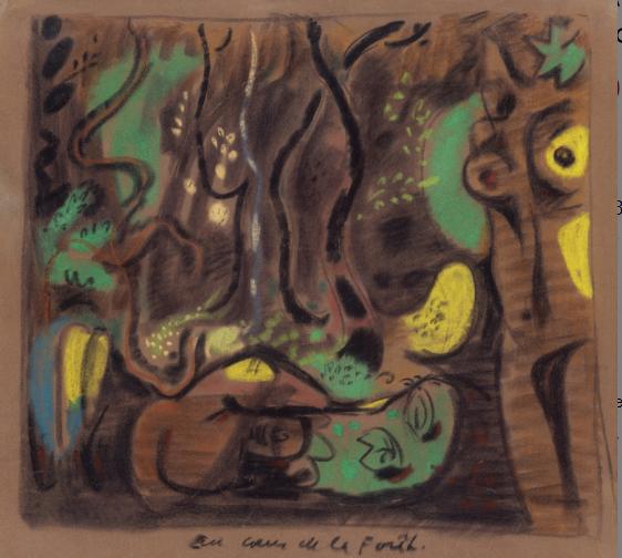 André Masson: Au coeur de la forêt