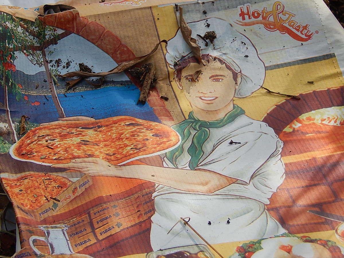 Mangez des pizzas...