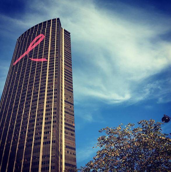#tourmontparnasse Octobre rose
