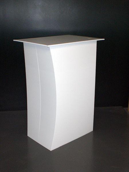 PLV Carton podium