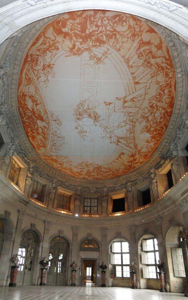 Habillage Monument historique, bache grand format avec impression numérique HD