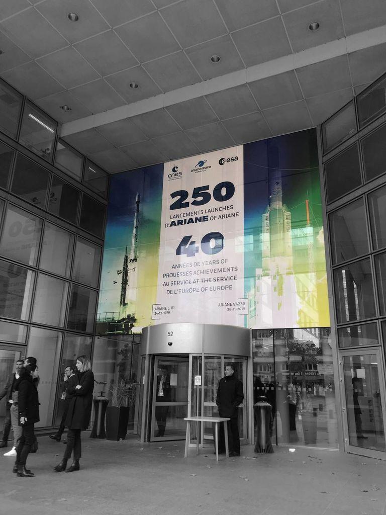 Ariane 250 lancements en 40 ans