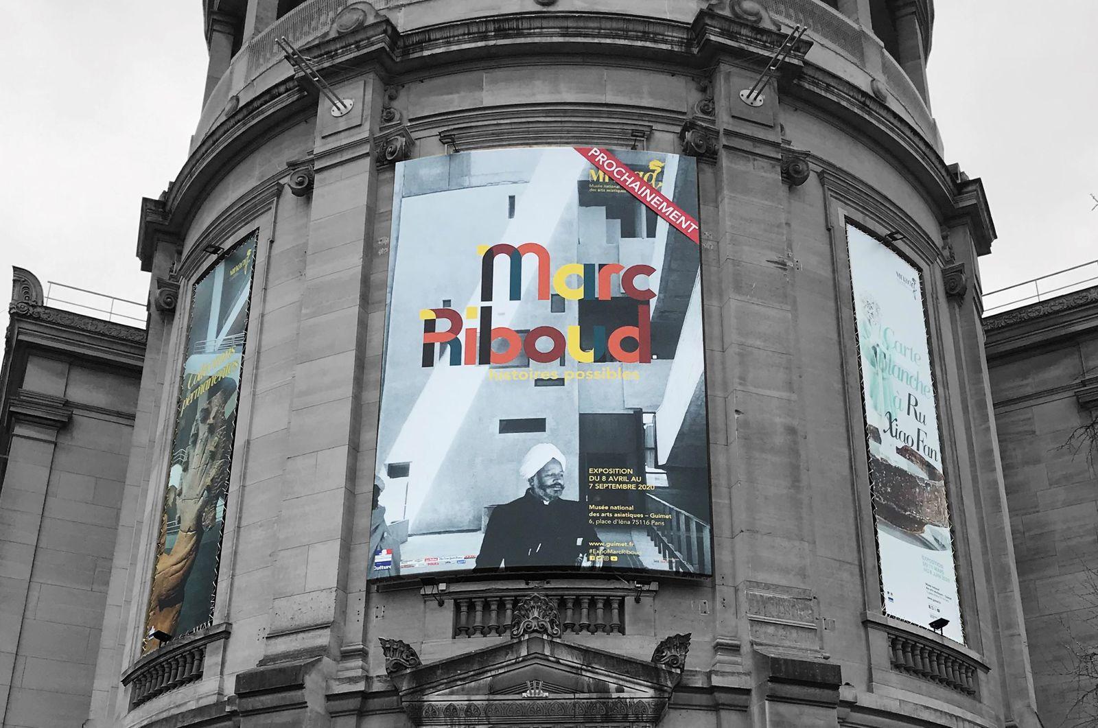 communication evenementielle visuel grand format, museographique