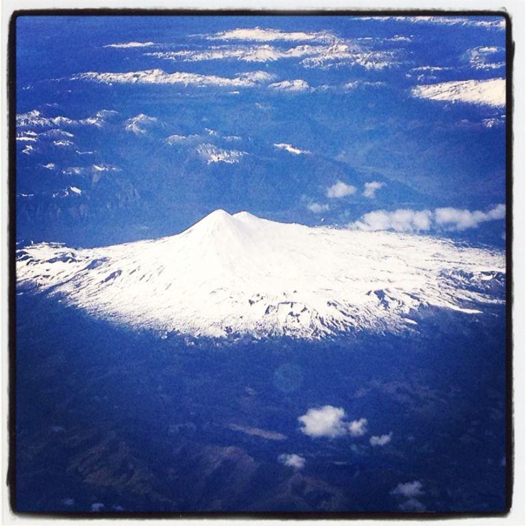 Santiago du Chili - Osorno - Compagnie chilienne LAN