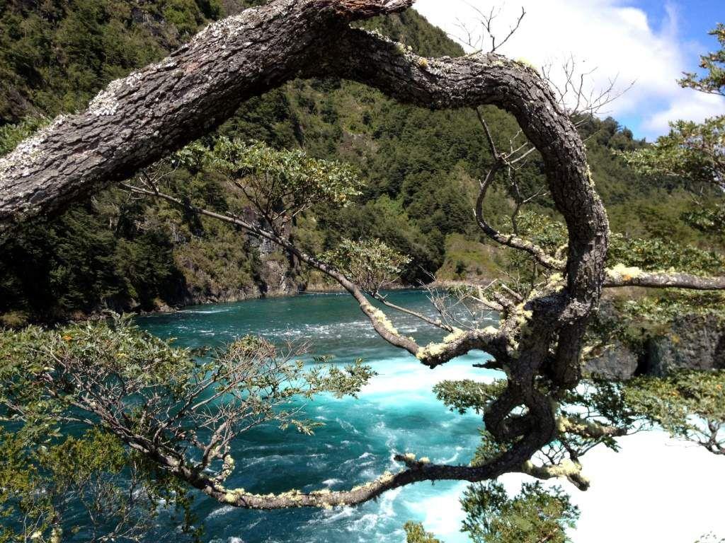 Las CASCADAS-Province de LLANQUIHUE-Patagonie- CHILI
