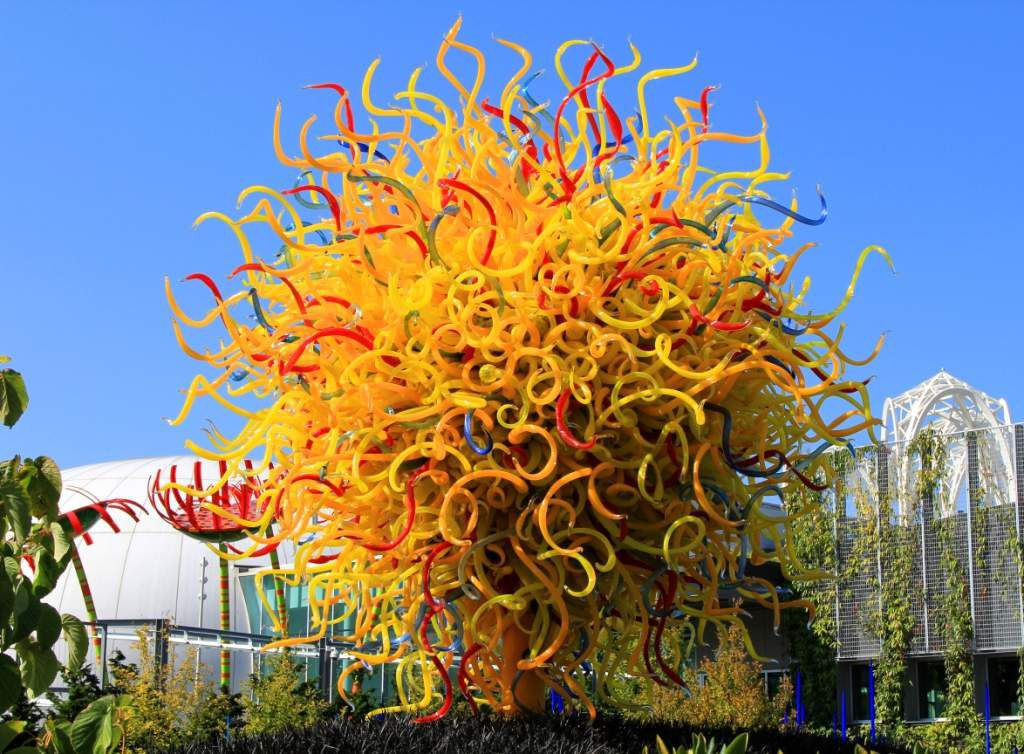 161 -CHIHULY garden glass-SEATTLE-Extérieur