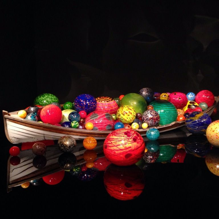 161 -CHIHULY garden glass-SEATTLE-Intérieur