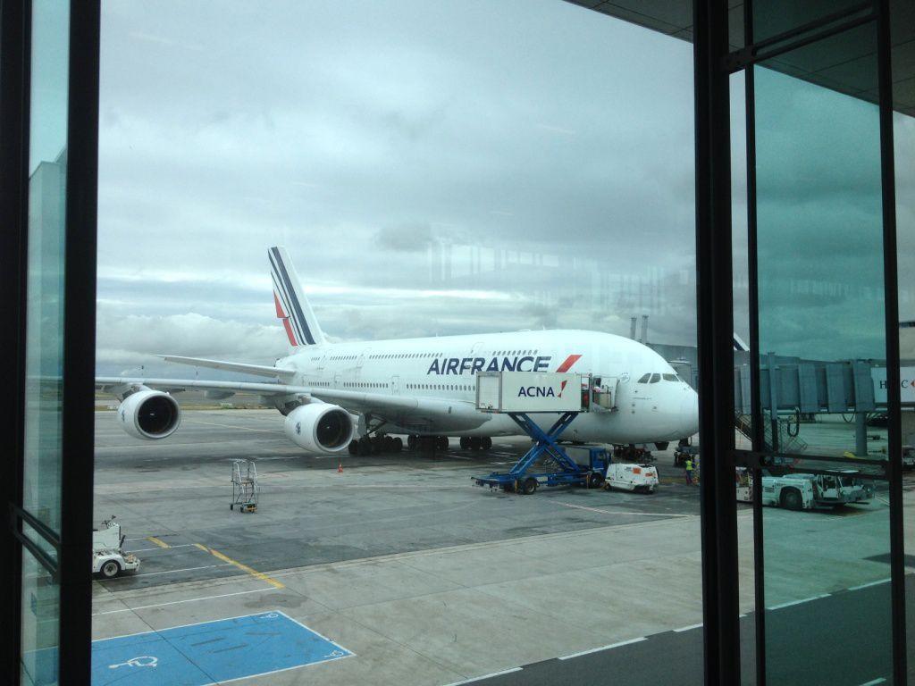 Paris - Los Angeles Air France A380