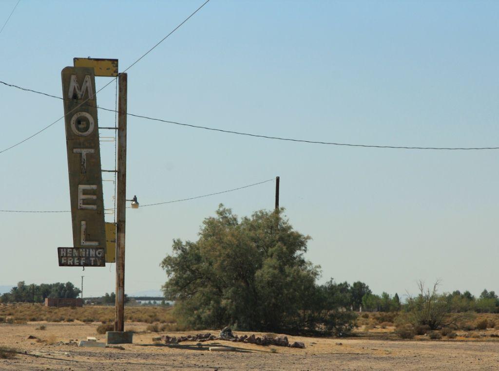 Bagdad café - Route 66 - Californie