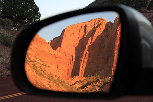 124 Zion au coucher du soleil - Utah