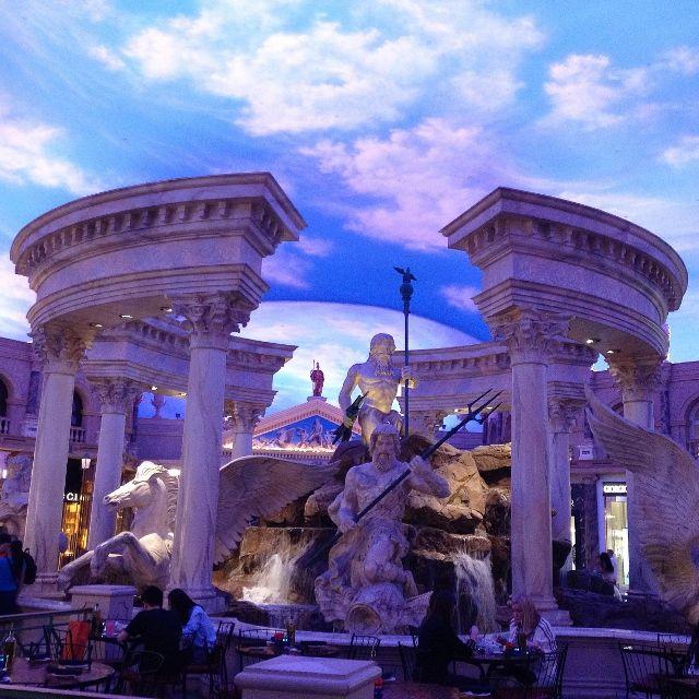 Shopping au Caesars Palace - Las Vegas