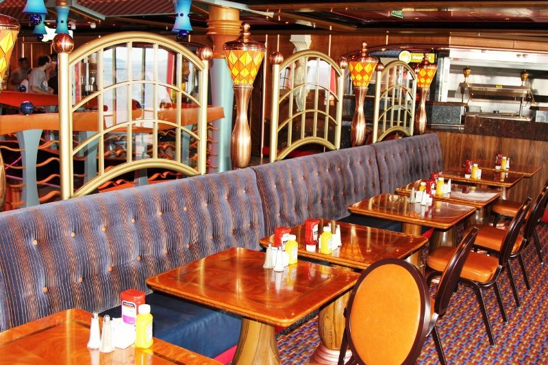 41 Carnival Miracle Restaurants
