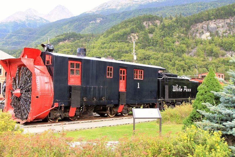 Train touristique White Pass Yukon Route