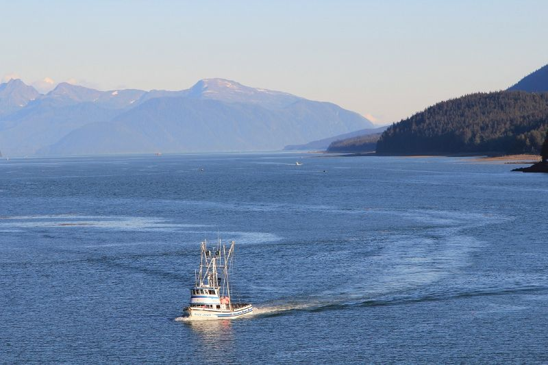 Océan Pacifique Croisière Carnival Miracle - ALASKA - CANADA