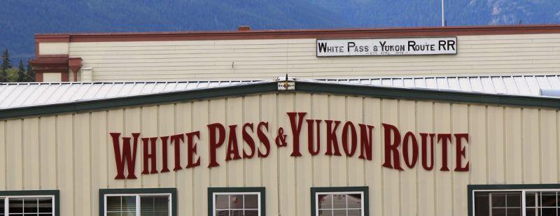 Paysages d'alaska en train touristique White Pass USA