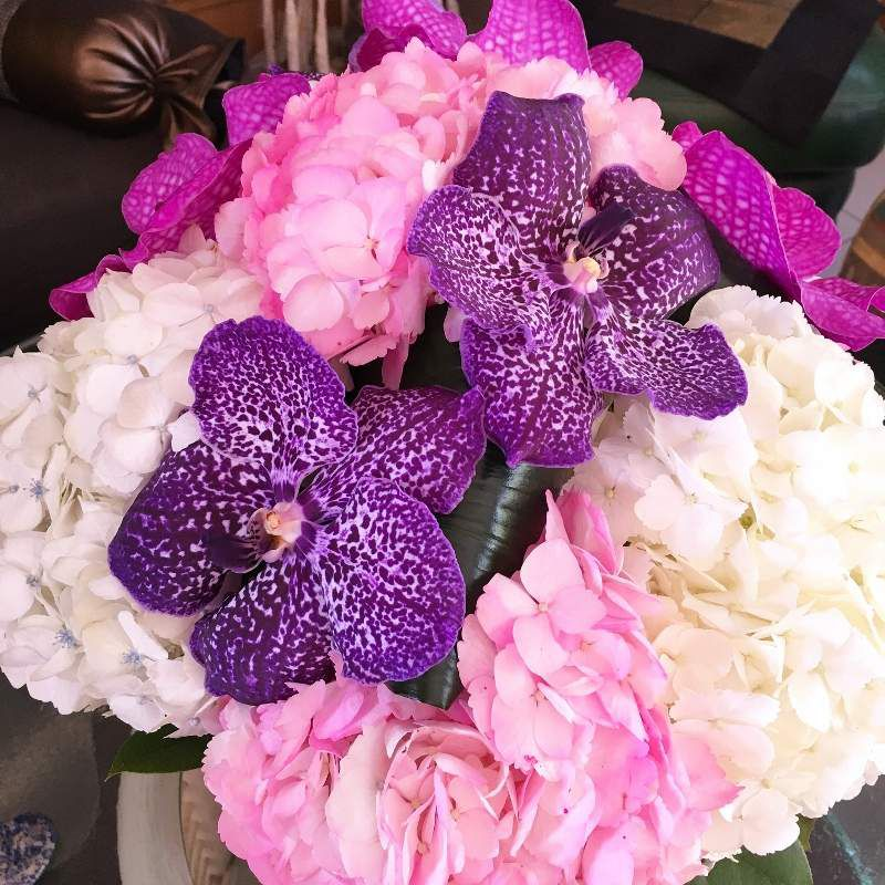 Mes boutons de fleurs