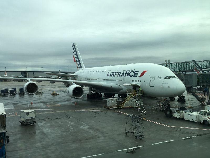 Paris New York Air France