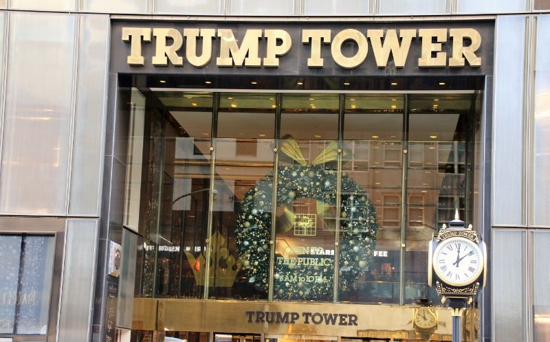 Tour Trump 5th av New York