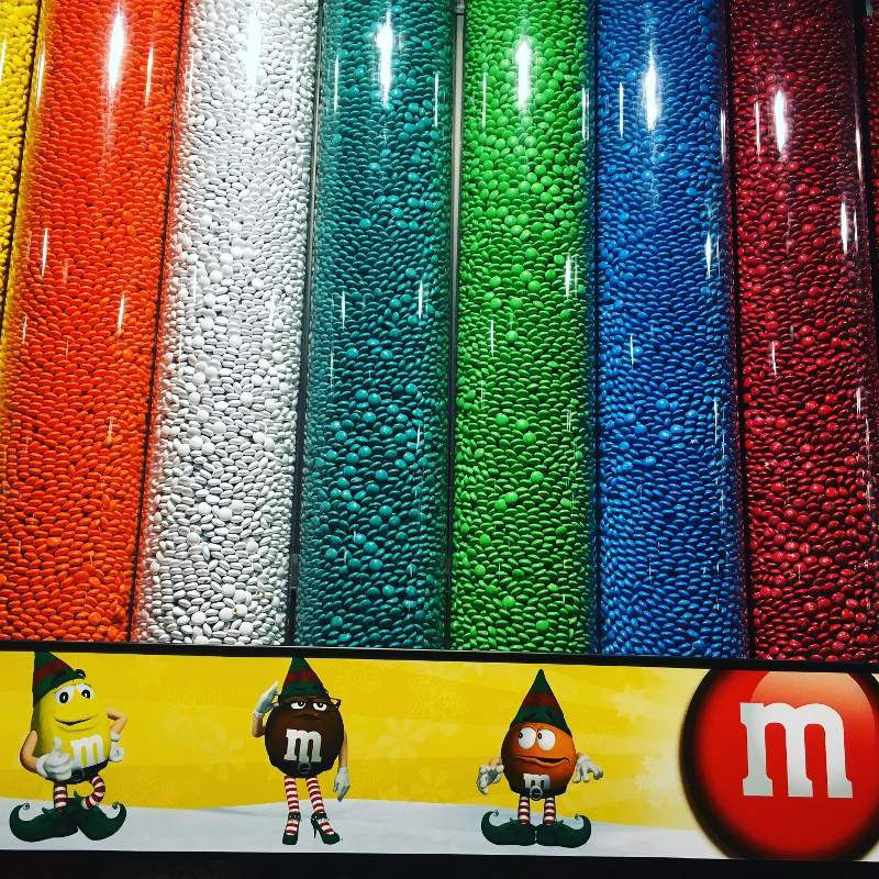 Magasin M&M's - New York