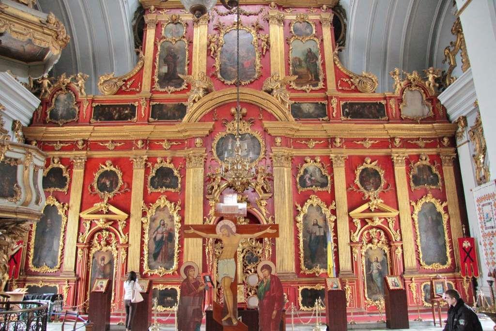 Eglise Saint ANDRE Intérieur Kiev Ukraine