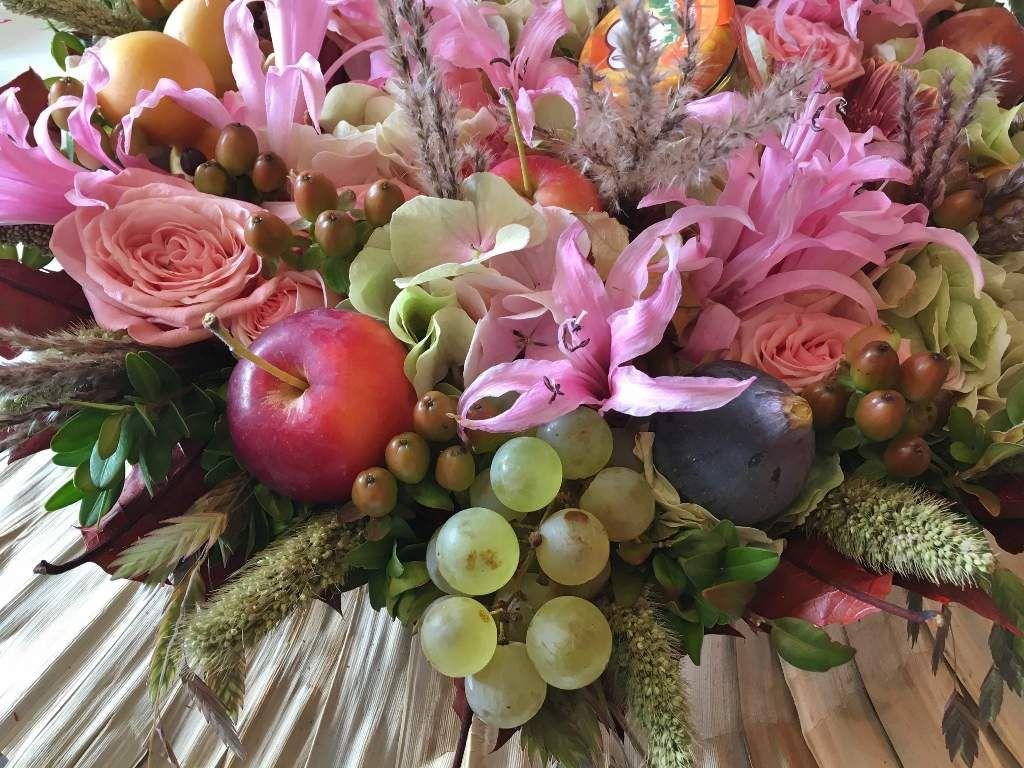 Fleurs et fruits