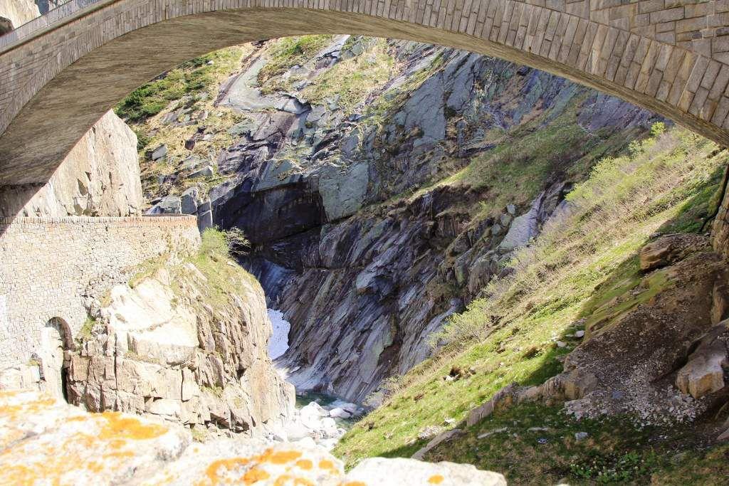 Gorges de Teufelsbrücke - Suisse