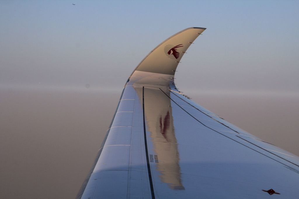 Qatar airways - Paris - Doha - Singapour