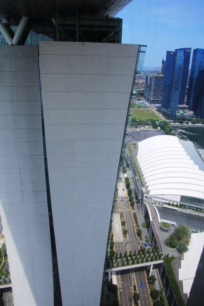 Vues côté ocean - hôtel Marina Bay Sands Singapour