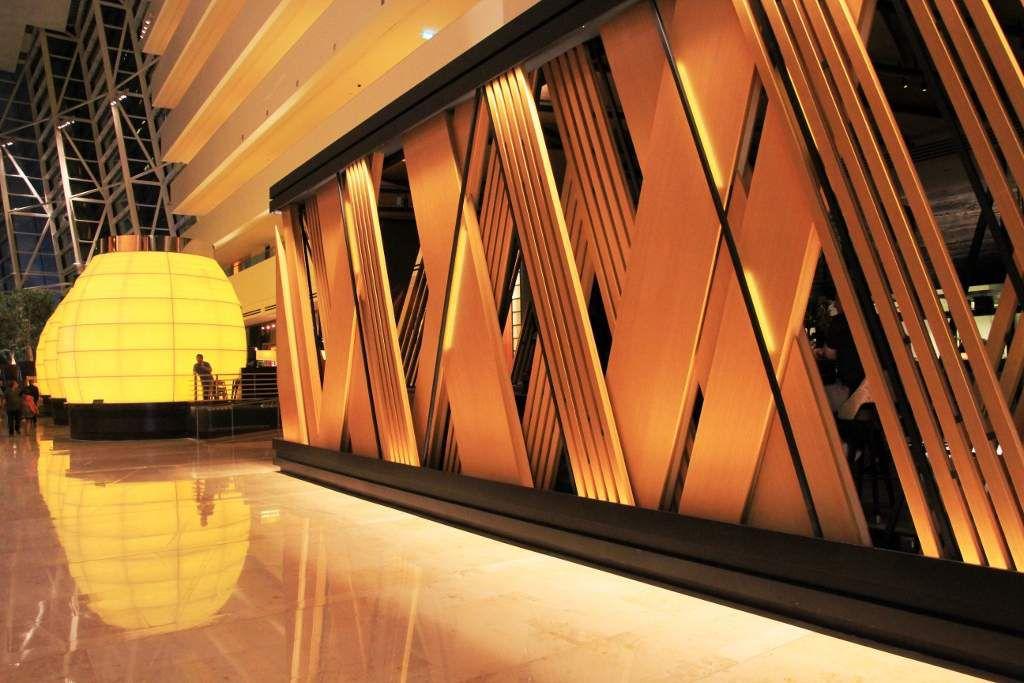 Intérieur du Marina Bay Sand hôtel Singapour