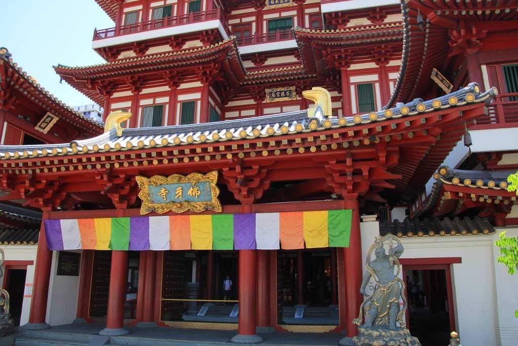 Temple relique de la dent de Bouddha - Singapour