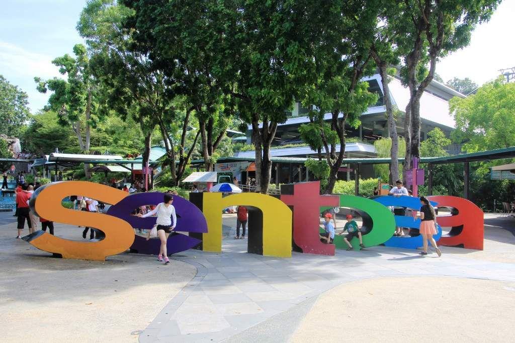142 Singapour Sentosa island