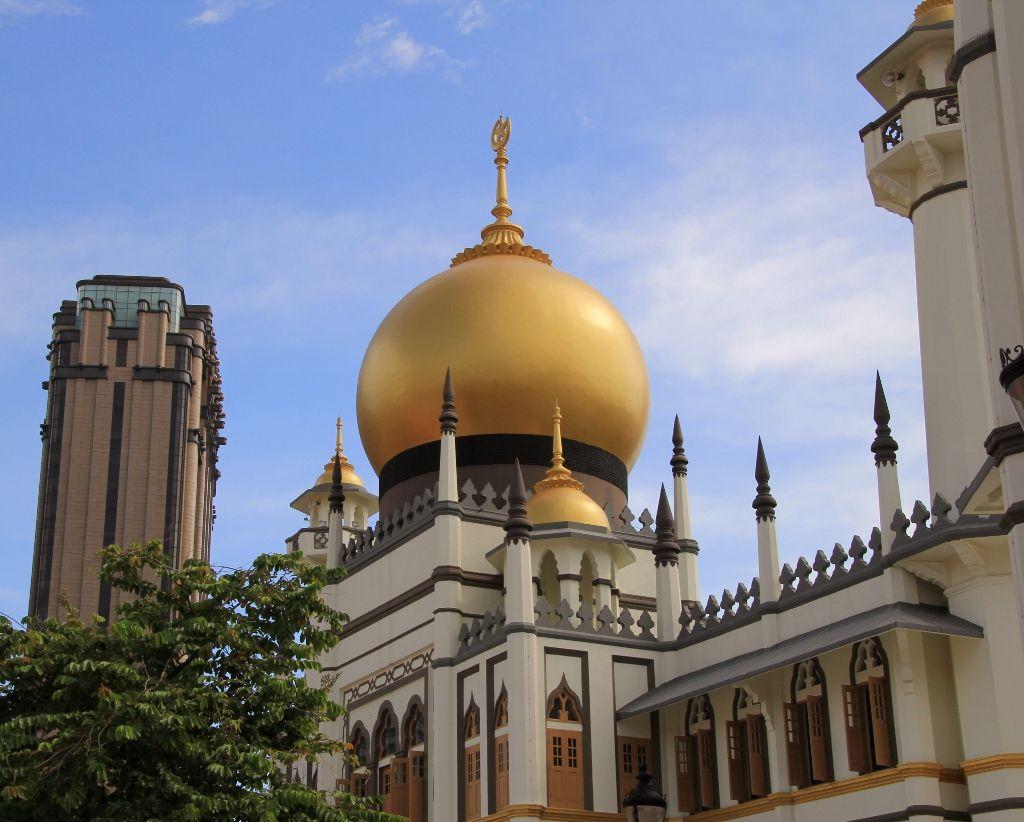 La Mosquée Sultan Singapour