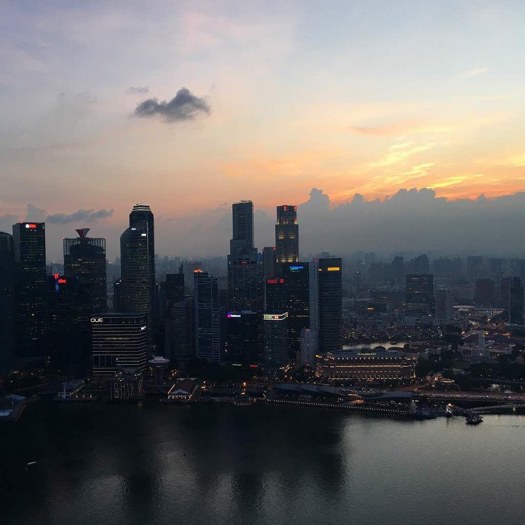 Couchers de soleil à Singapour