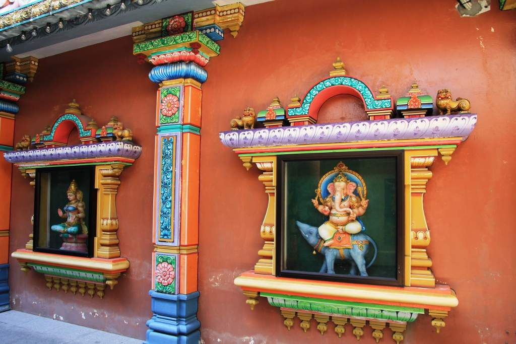 Temple hindou Sri Maha Mariamman KUALA LUMPUR Malaisie