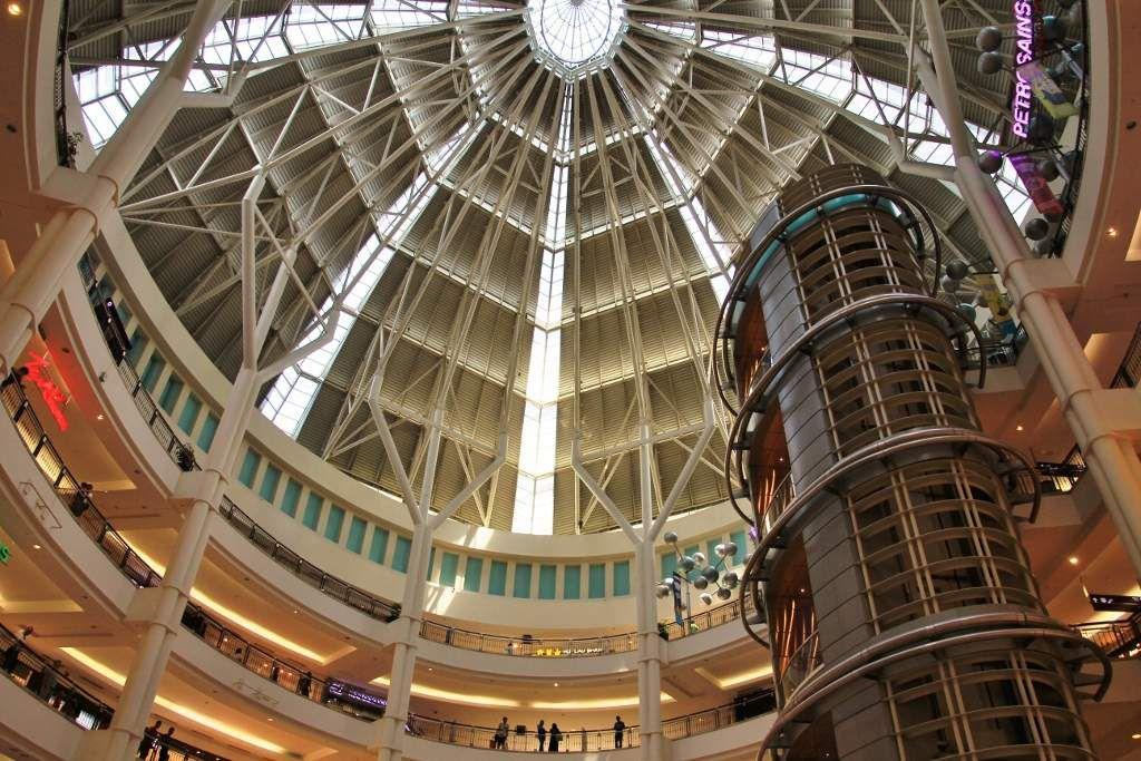 Intérieur des Tours jumelles Pétronas Kuala Lumpur