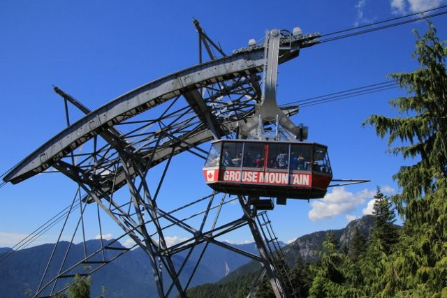 Grouse mountain : Colombie Britanique Canada