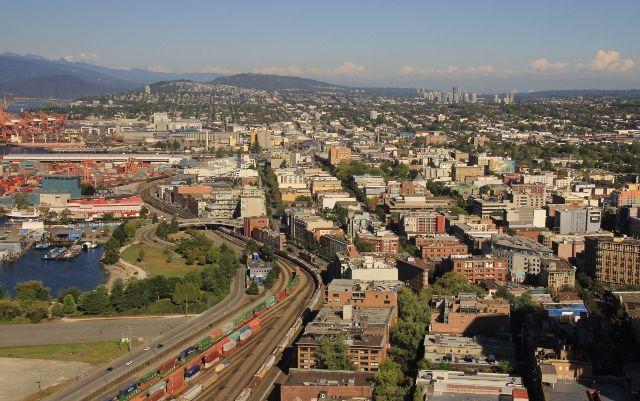 Vancouver lookout Vue panoramique