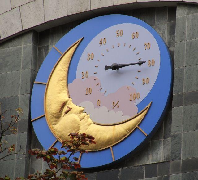 L'heure à Vancouver - Canada