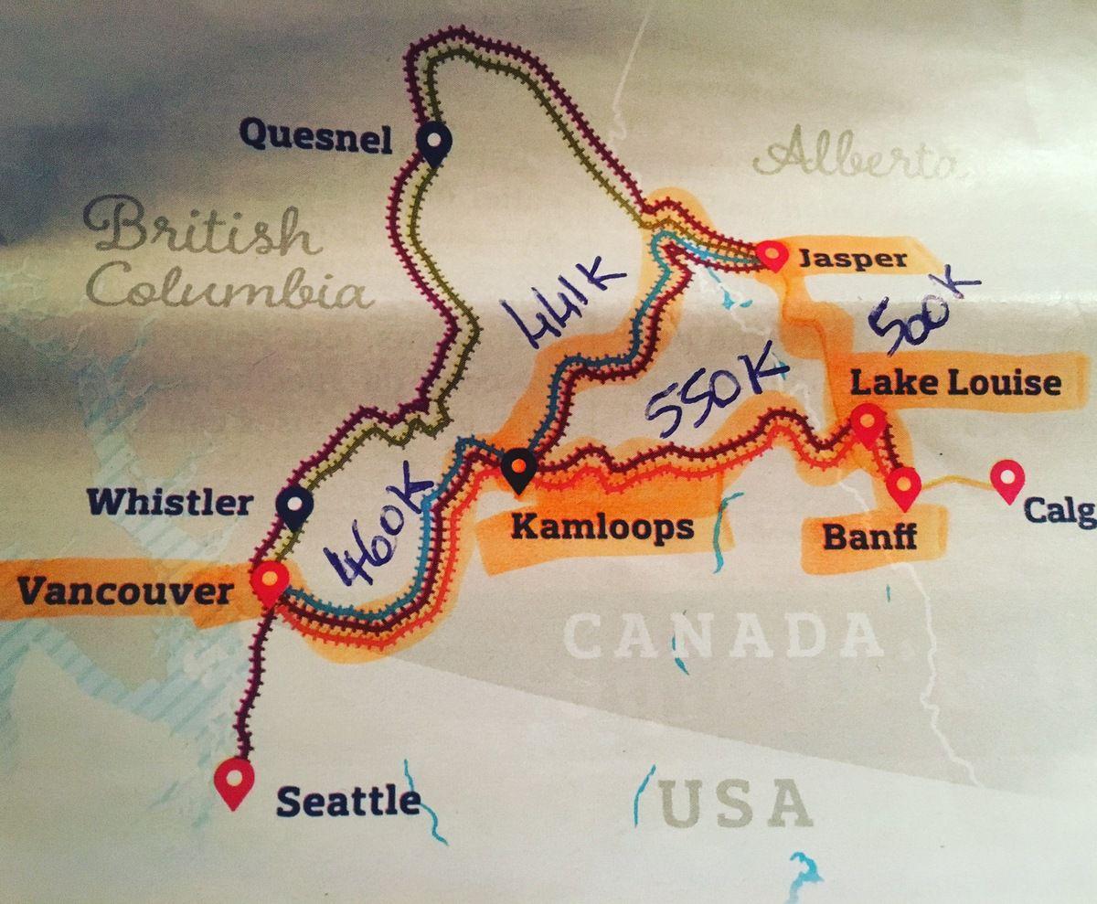 De KAMLOOPS à JASPER : Circuit train Rocky Mountaineer en Colombie Britannique Canada