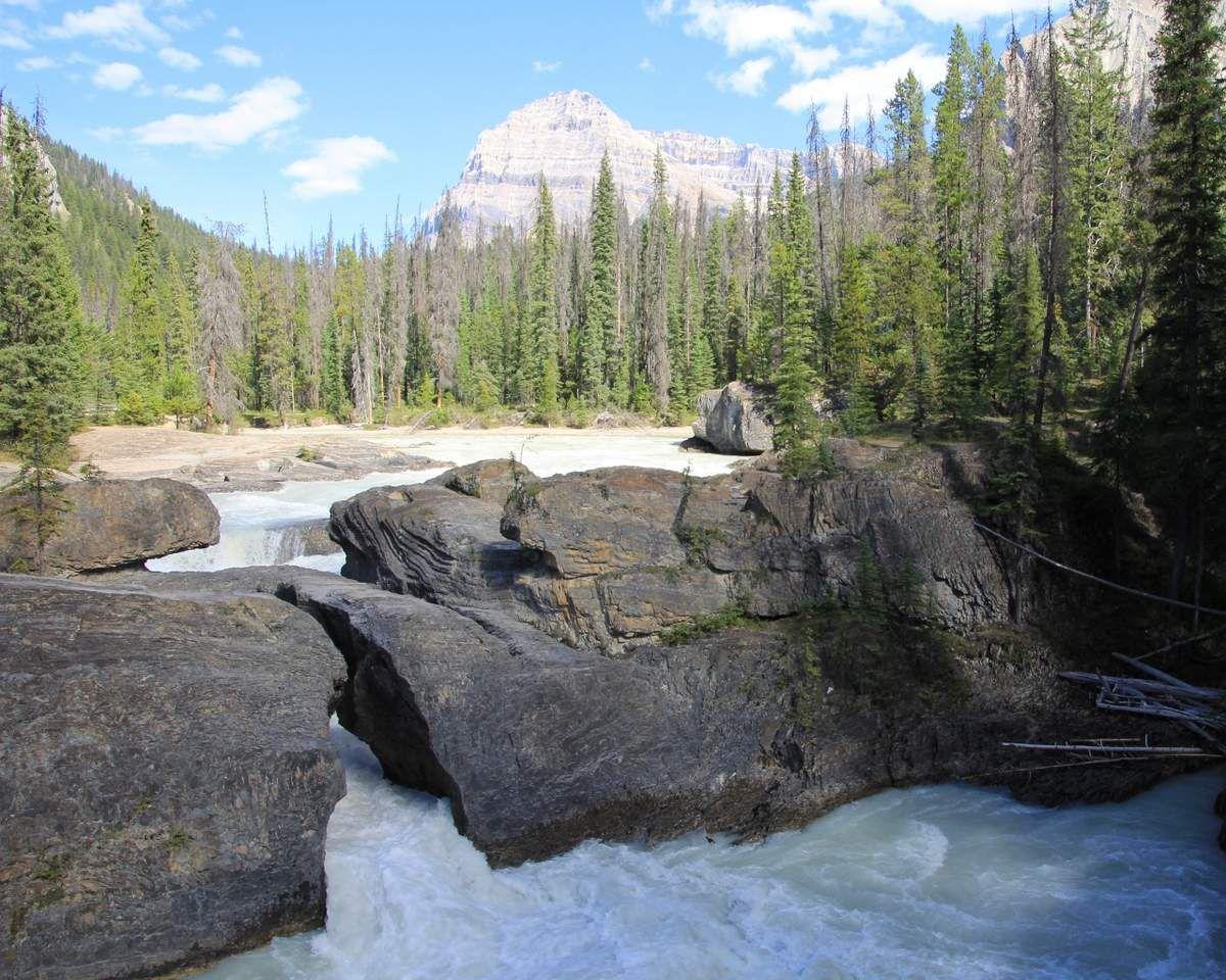 NATURAL Bridge - Parc national YoHo au Canada