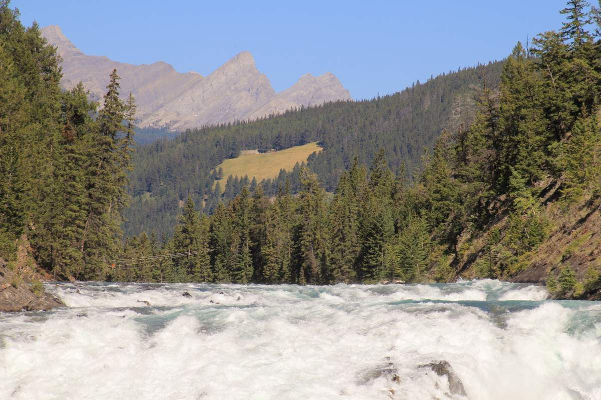 Bow falls - Alberta Canada