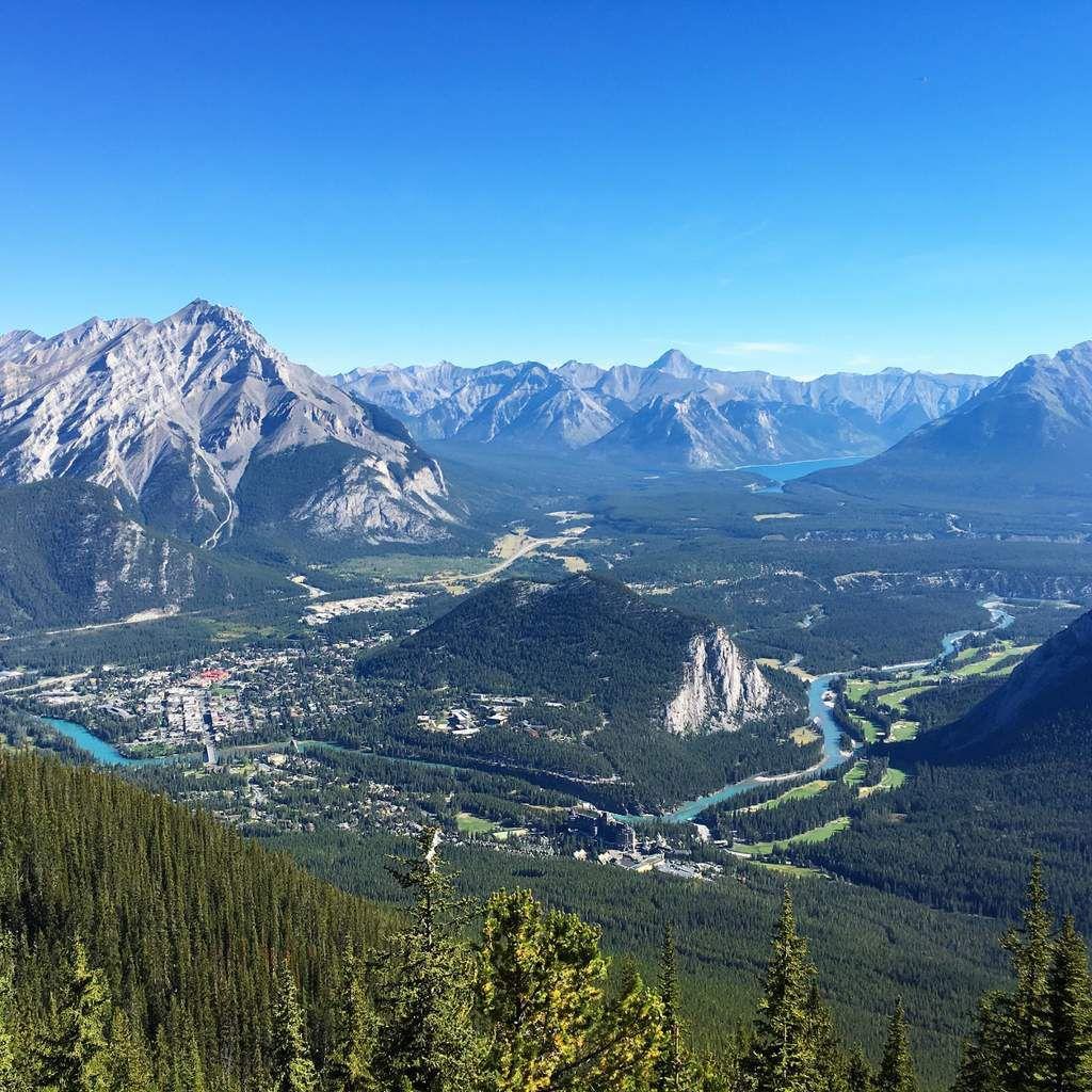 Mount SULPHUR au Canada